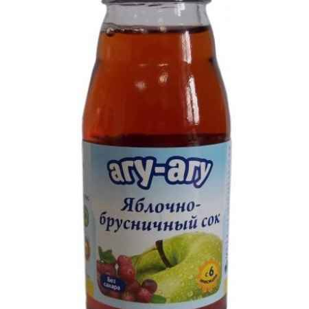 Купить Агу-Агу Сок яблочно-брусничный 170 мл