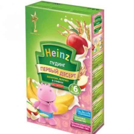 Купить Heinz Пудинг Бананчик, яблоко в сливках с 6 мес. 200 г