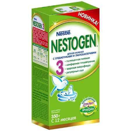 Купить Nestle Nestogen 3 Заменитель с 12 мес. 350 г