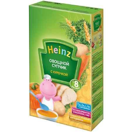 Купить Heinz Супчик овощной с курочкой, 8 мес., 160 г.