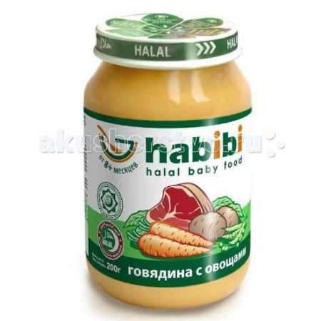 Купить Habibi Пюре Говядина с овощами 200 г