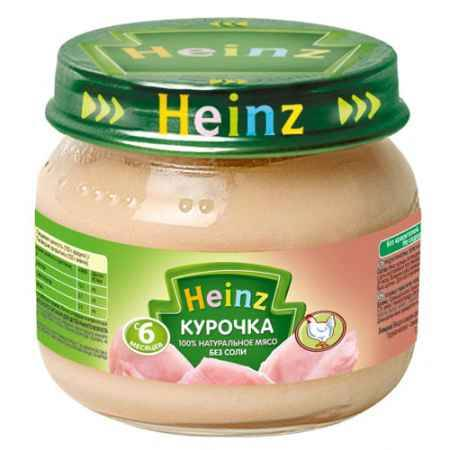 Купить Heinz Пюре Курочка с 6 мес., 80 г