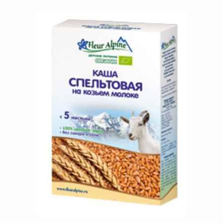 Купить Fleur Alpine Пшеничная (спельтовая) на козьем молоке 5 мес., 200 гр.
