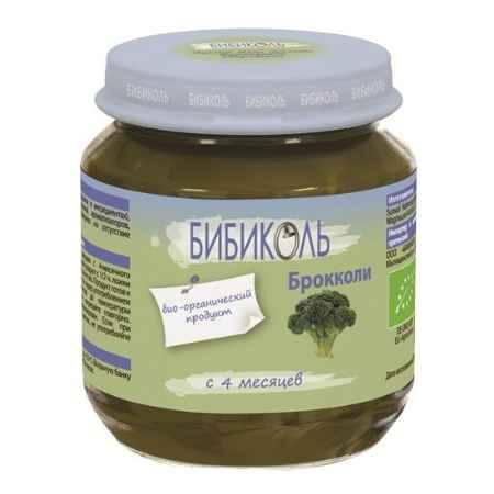 Купить Бибиколь Органическое пюре Брокколи с 4 мес. 125 г
