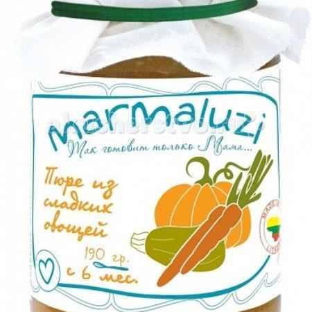 Купить Marmaluzi Пюре из сладких овощей с 6 мес. 190 г