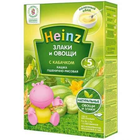 Купить Heinz Каша Рисово-пшеничная с кабачками с 5 мес,. 200 гр.