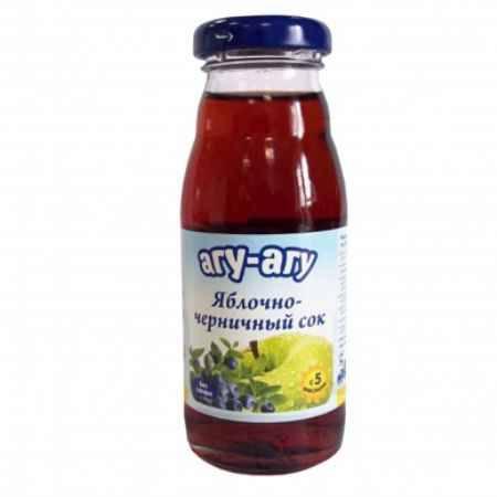 Купить Агу-Агу Сок яблочно-черничный 170 мл