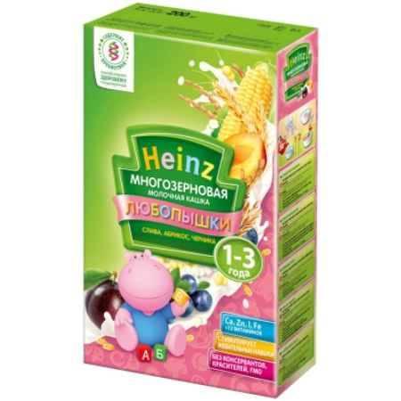 Купить Heinz Многозерновая кашка Слива, абрикос, черника с 1 года 200 г
