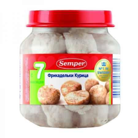 Купить Semper Пюре фрикадельки Курица с 7 мес. 125 г