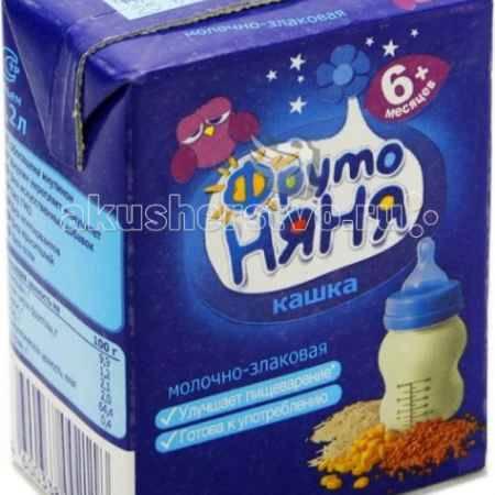 Купить ФрутоНяня Каша готовая молочно-злаковая жидкая 200 гр