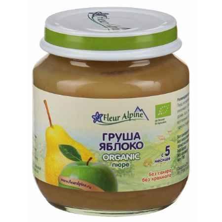 Купить Fleur Alpine Пюре Груша с яблоком с 5 мес. 125 г