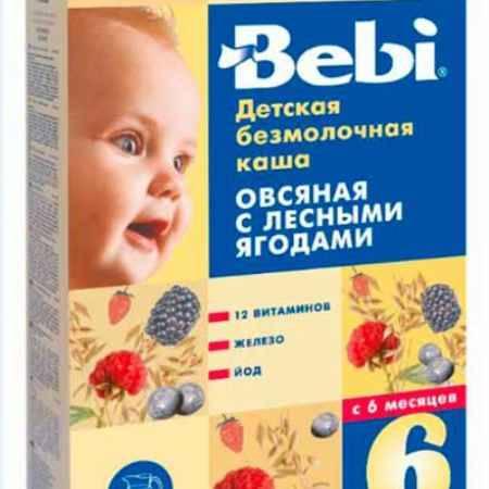 Купить Bebi Овсяная каша с лесными ягодами с 6 мес. 200 г
