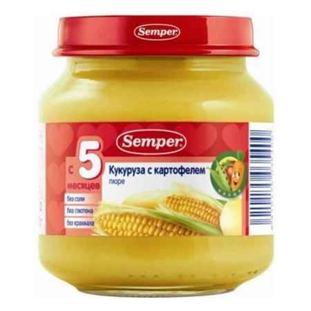 Купить Semper Пюре Кукуруза с картофелем с 5 мес., 125 г