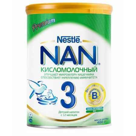 Купить NAN Заменитель Кисломолочный 3 с 12 месяцев 400 г