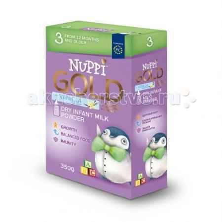 Купить Nuppi GOLD 3 Сухая молочная смесь от 12 мес. 350 г