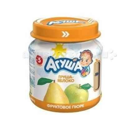 Купить Агуша Фруктовое пюре Груша-яблоко 115 г