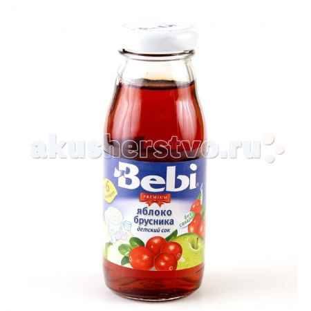 Купить Bebi Сок Premium Яблоко, брусника с 6 мес. 170 мл
