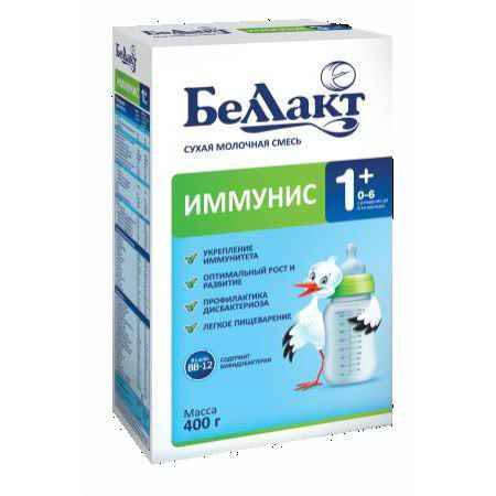 Купить Беллакт Сухая молочная смесь Иммунис 1+ 400 г