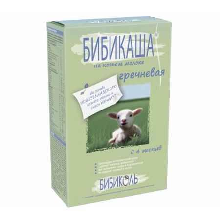 Купить Бибиколь Бибикаша Гречневая на козьем молоке с 4 мес. 250 г