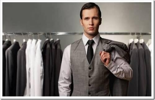 Мужчина и одежда