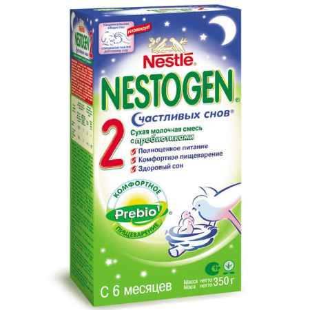 Купить Nestle Nestogen 2 Заменитель с рисовой мукой Счастливых снов с 6 месяцев 350 г