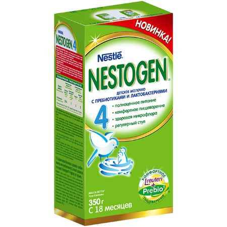 Купить Nestle Nestogen 4 Заменитель с 18 мес. 350 г