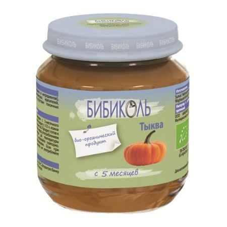 Купить Бибиколь Органическое пюре Тыква с 5 мес. 125 г