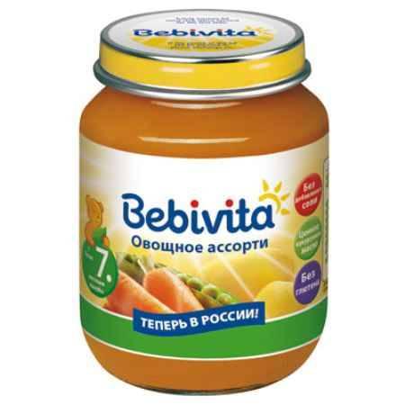 Купить Bebivita Пюре Овощное ассорти с 7 мес. 100 г