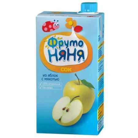 Купить ФрутоНяня Сок из яблок с мякотью с 3 лет, 500 мл (тетра пак)