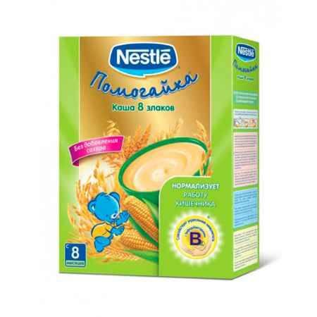 Купить Nestle Безмолочная каша Помогайка 8 злаков с бифидобактериями с 8 мес. 250 г