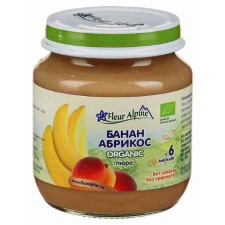 Купить Fleur Alpine Пюре Банан с абрикосом с 6 мес. 125 г