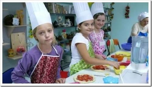 Кулинарные курсы детям