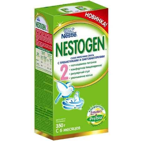 Купить Nestle Nestogen 2 Заменитель с 6 мес. 350 г