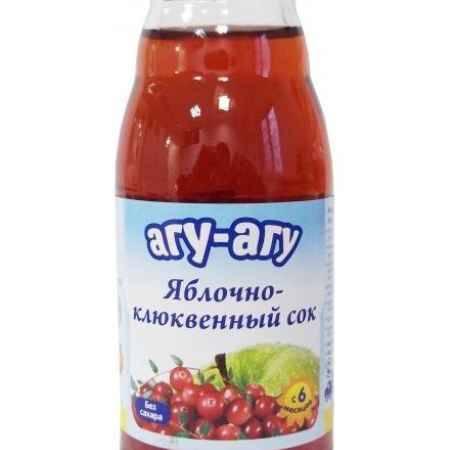 Купить Агу-Агу Сок яблочно-клюквенный 170 мл