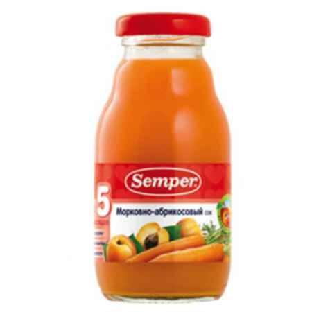 Купить Semper Сок Морковно-абрикосовый с 5 мес., 200 мл