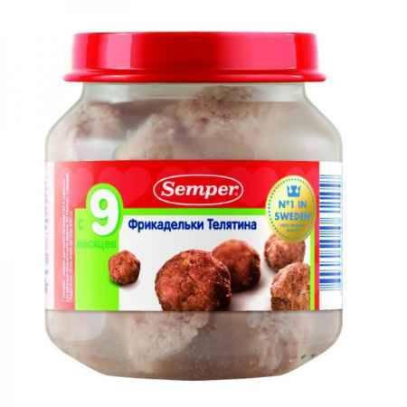 Купить Semper Пюре фрикадельки Телятина с 9 мес. 125 г