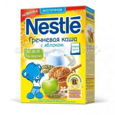 Купить Nestle Каша молочная Гречневая с яблоком, 250г