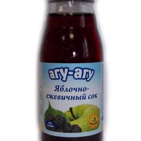 Купить Агу-Агу Сок яблочно-ежевичный 170 мл