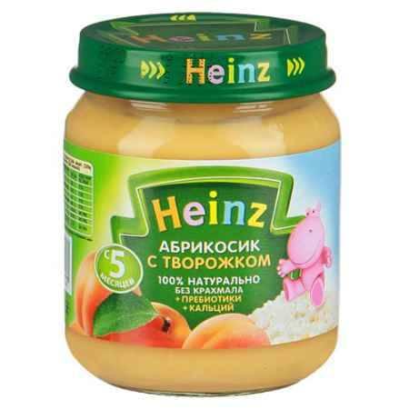 Купить Heinz Пюре Абрикосики с творожком с 5 мес., 120 г