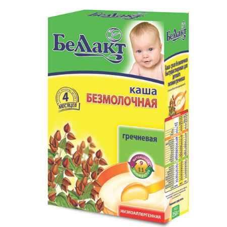 Купить Беллакт Гречневая каша безмолочная с 4 мес., 250 г