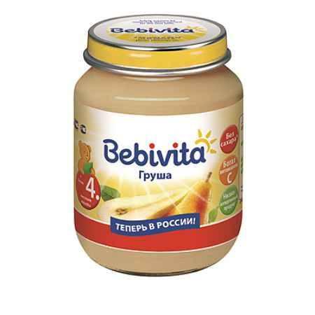 Купить Bebivita Пюре Груша с 4 мес. 100 г