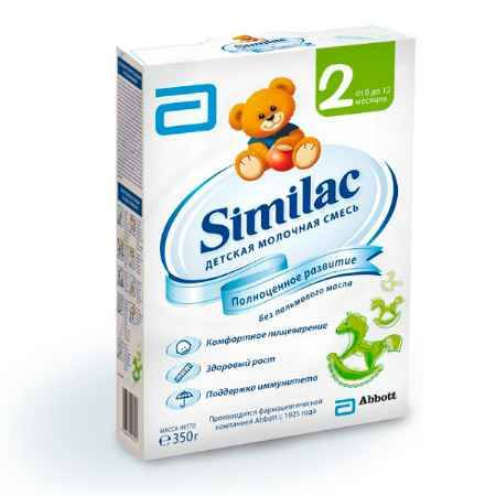 Купить Similac Молочная смесь 2 с 6-12 мес. 350 г