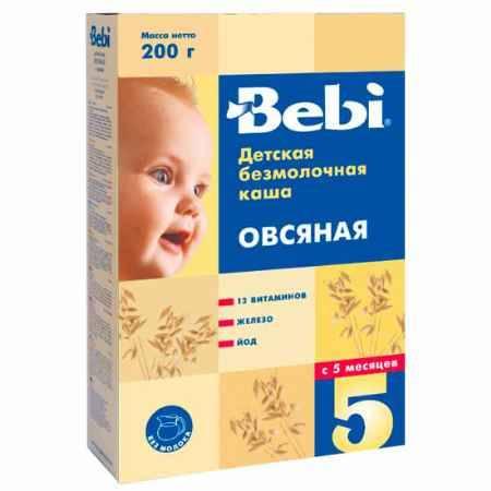 Купить Bebi Овсяная каша безмолочная с 5 мес. 200 г