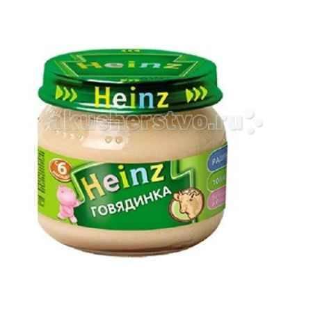 Купить Heinz Пюре Говядинка с 6 мес. 80 г