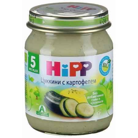 Купить Hipp Пюре Кабачок с картофелем с 5 мес., 125 г
