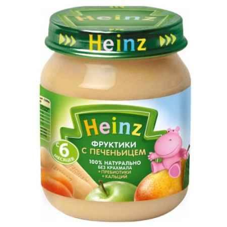 Купить Heinz Пюре Фруктики с печеньицем с пребиотиками с 6 мес., 120 г