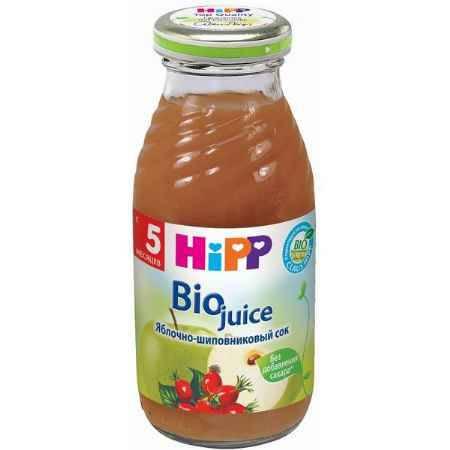 Купить Hipp Сок Яблочно-шиповниковый с 5 мес., 200 мл