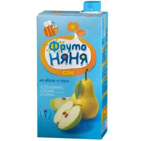 Купить ФрутоНяня Сок из яблок и груш с мякотью с 3 лет, 500 мл (тетра пак)