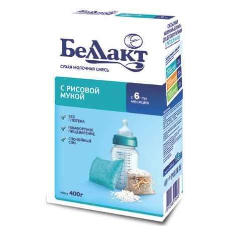 Купить Беллакт Смесь сухая молочная с рисовой мукой 400 г
