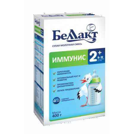 Купить Беллакт Сухая молочная смесь Иммунис 2+ 400 г